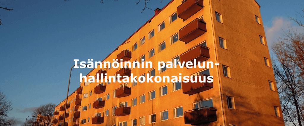 Isännöinnin palvelunhallintakokonaisuus.