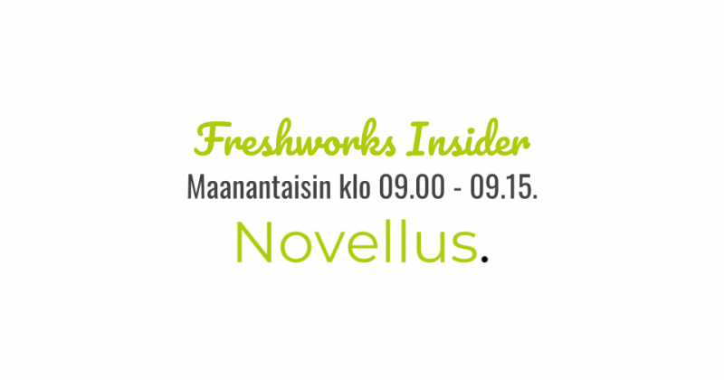 Freshworks Insider -webinaari