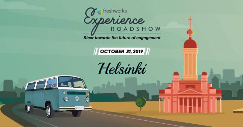 Freshworks Roadshow Helsingissä 31.10.2019