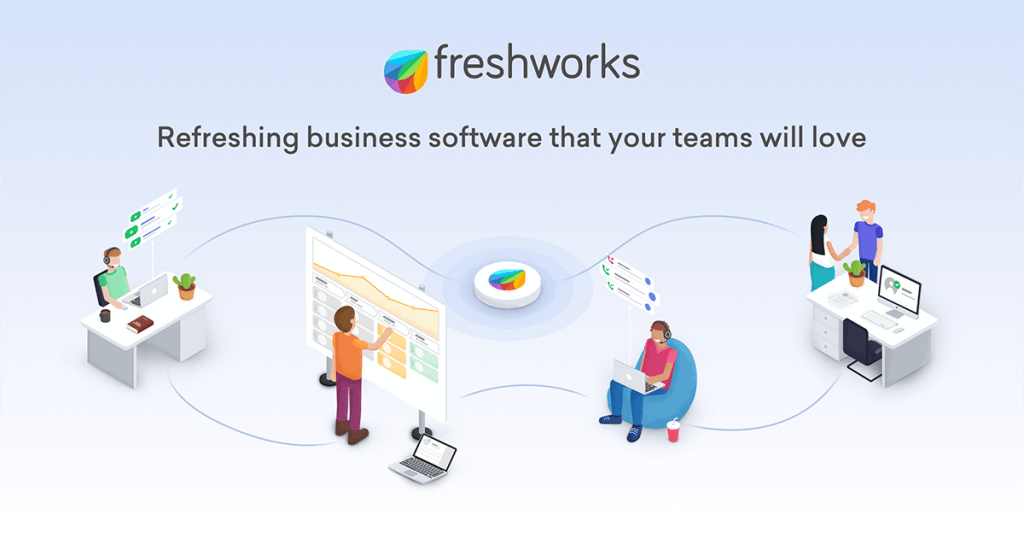 Freshworks - Refreshing business software.