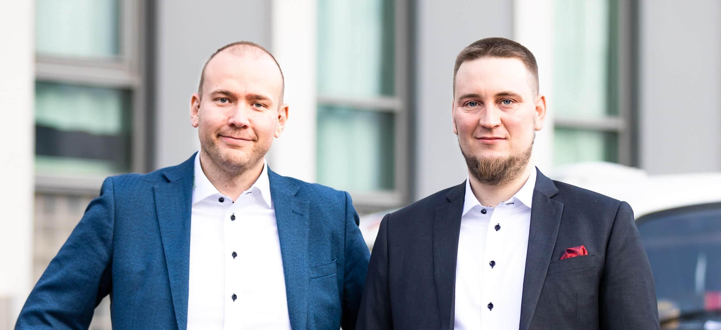 Kim Hiekkanen ja Jesse Uitto.