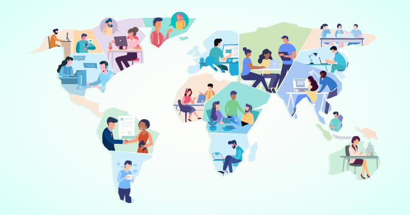 6 vinkkiä maailmanluokan etäasiakaspalvelutiimin rakentamiseen