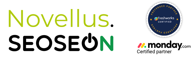 Novellus ja Seoseon logot.