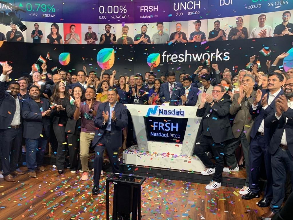 Kuva FRSH IPO:sta.